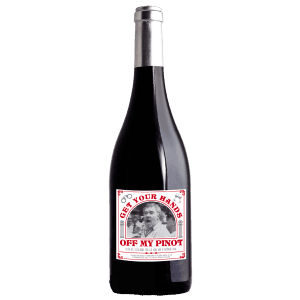 Mr Democracy Manifest Pinot Noir red wine bottle