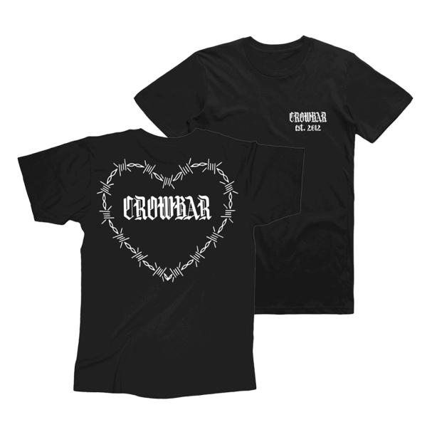 Crowbar Heart T-shirt