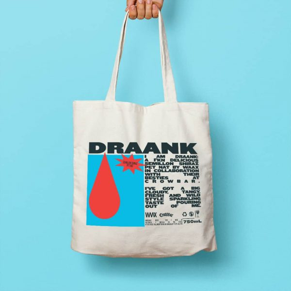 Waax Draank Crowbar Tote bag