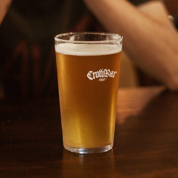 crowbar lager beer schooner
